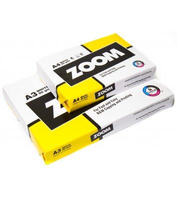 Бумага офисная А3 80г/м2 500л класс C Zoom, белая