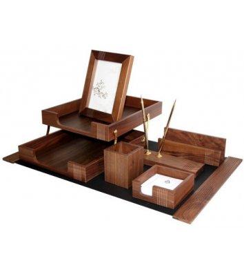 Набір настільний  7 предметів дерев'яний, Bestar