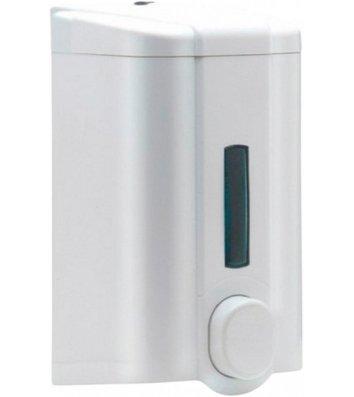 Дозатор для рідкого мила пластиковий білий 1л. S4 PRO Service Standard
