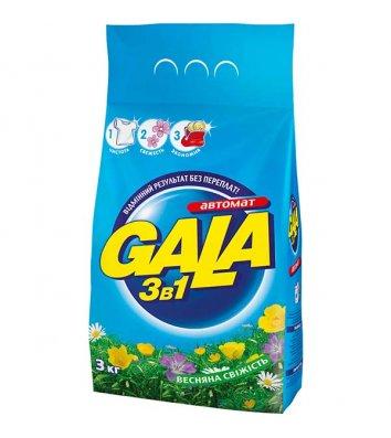 Засіб для прання Gala 3кг автомат, весняна свіжість