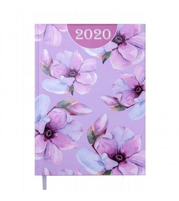 Ежедневник датированный A5 2020 Estilo светло-розовый, Buromax