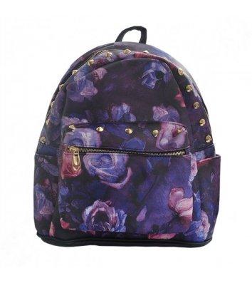 "Рюкзак молодежный ""Purple Roses"", Zibi"