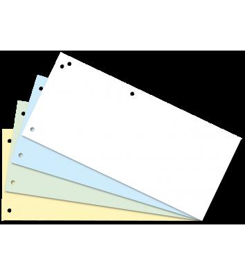 Разделители листов 100шт картонные цветные, Buromax