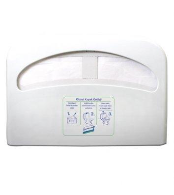 Держатель для накладок на сиденье унитаза пластиковый белый PRO Service