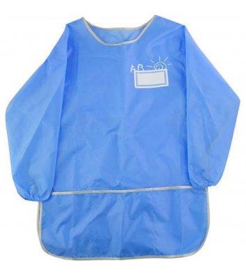 Фартух зі спинкою 62*36см блакитний, Cool for School