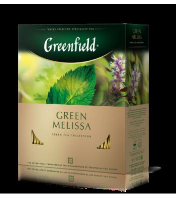 """Чай зелений Greenfield """"Green Melissa"""" в пакетиках 100шт"""