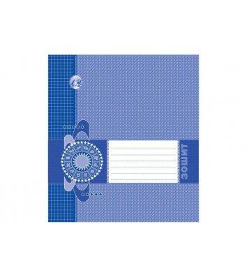 Тетрадь 18 листов линия эконом, обложка в ассортименте