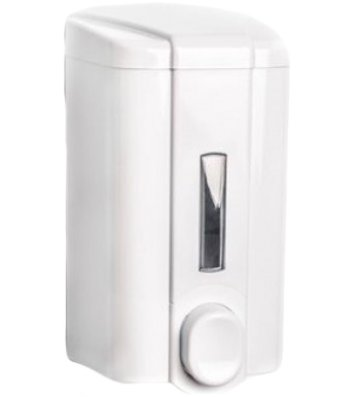 Дозатор для рідкого мила пластиковий білий 0,5л. S2 PRO Service Standard