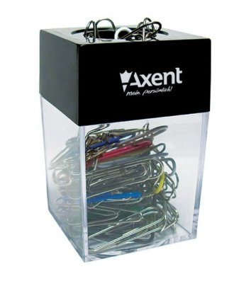 Подставка для скрепок с магнитом, Axent