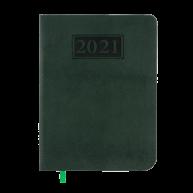 Щоденник датований A5 2019 Amazonia зелений, Buromax