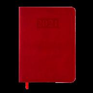Щоденник датований A5 2019 Amazonia червоний, Buromax