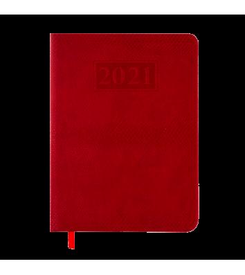 Щоденник датований A5 2020 Amazonia червоний, Buromax