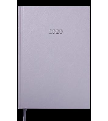 Ежедневник датированный A5 2019 Strong серый, Buromax