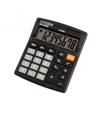 Калькулятор  8 розрядів 131*102*18,5мм, Citizen