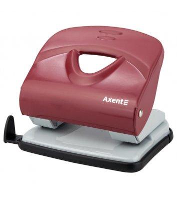 Діркопробивач  30арк корпус металевий колір червоний Exakt-2, Axent