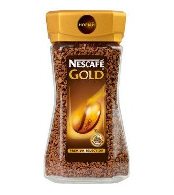 Кава розчинна Nescafe Gold 100г, скло