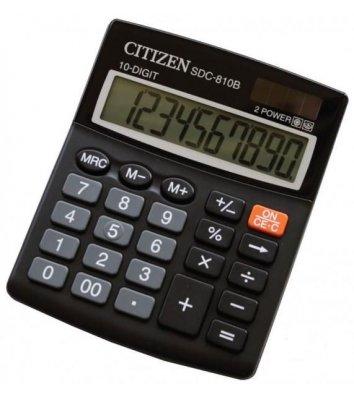 Калькулятор 10 розрядів 124*102*25мм, Citizen