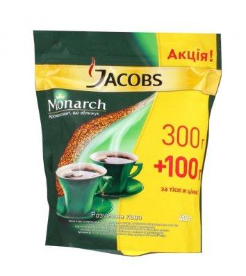 Кава розчинна Jacobs Monarch 400г, економ пакет