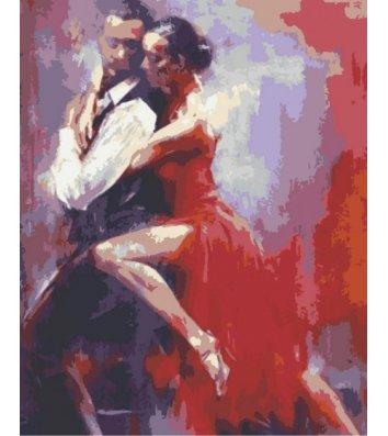 "Картина по номерам ""Танго"" 40*50см, Riverа Blanca"