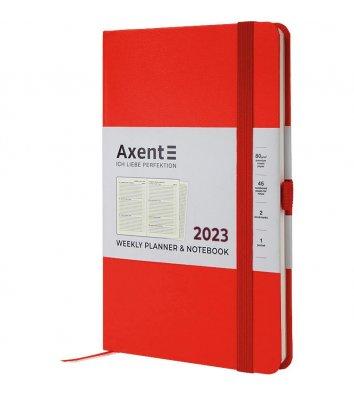 Щотижневик датований 2021 Partner Strong 125*195мм чорний, Axent