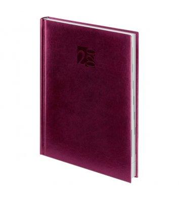 Щоденник датований A5 2020 Intention бордовий, Brunnen