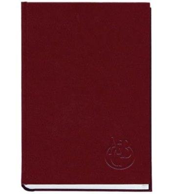 Телефонная книга А5 112арк бордовая, Полиграфист