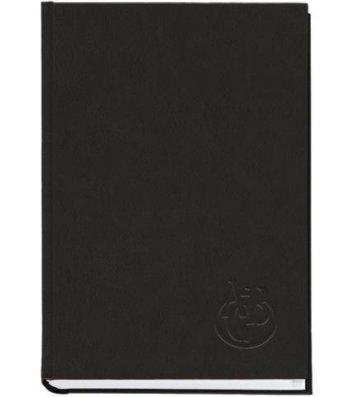 Телефонная книга А5 112арк черная, Полиграфист