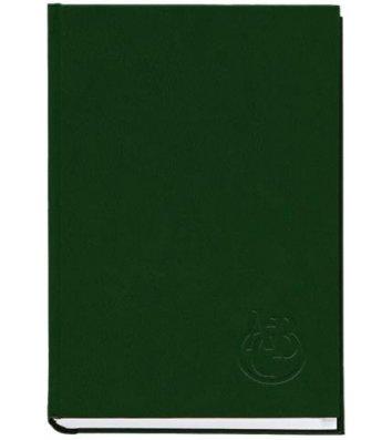 Телефонная книга А5 112арк зеленая, Полиграфист
