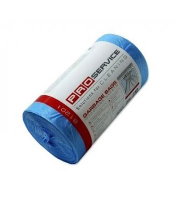 Пакет для сміття  60л/20шт 60*80см синій, PRO Service HD