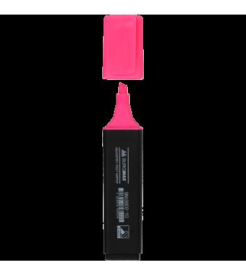 Маркер текстовый, цвет чернил розовый 2-4мм, Buromax
