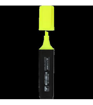 Маркер текстовый, цвет чернил желтый 2-4мм, Buromax
