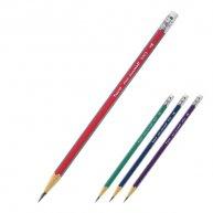 Олівець чорнографітний тригранний НВ, Axent