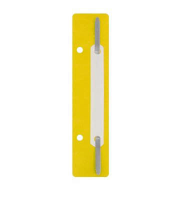 Мінішвидкозшивач 20шт жовтий, Economix