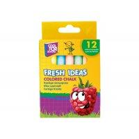 "Крейда кольорова 12шт ""Fresh Ideas"", Cool for School"