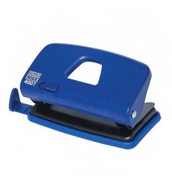 Діркопробивач  10арк корпус пластиковий колір синій, Buromax