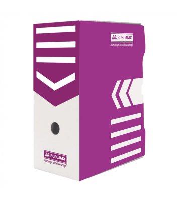 Бокс архівний 155мм фіолетовий, Buromax