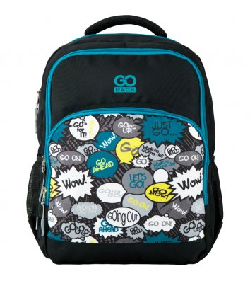 Рюкзак шкільний GoPack Education Just go, Kite