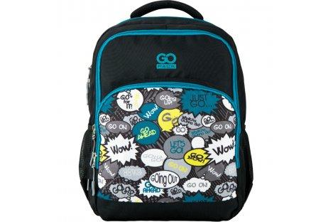 Рюкзак школьный GoPack Education Just go, Kite