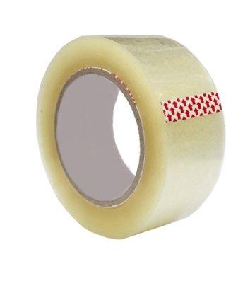 Скотч 48мм*200ярд упаковочный прозрачный, Buromax