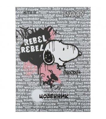 """Щоденник шкільний А5 48арк тверда обкладинка """"Peanuts Snoopy"""", Kite"""
