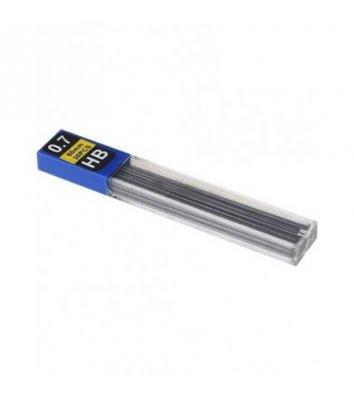 Стержни к механическому карандашу HB 0,7мм 12шт, Economix