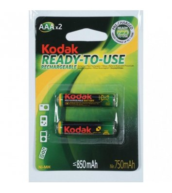 Акумулятор Kodak LR03/AAA 850mAh Ni-MH 1шт
