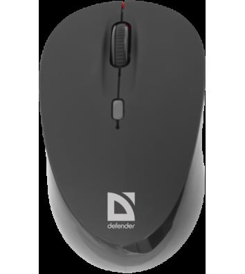 Миша комп'ютерна провідна чорна, Trust Carve USB Optical Mouse