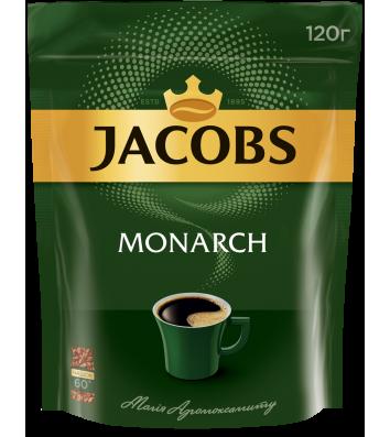Кава розчинна Jacobs Monarch 120г, економ пакет