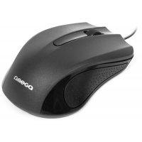 Миша комп'ютерна дротова чорна, Omega OM-05B