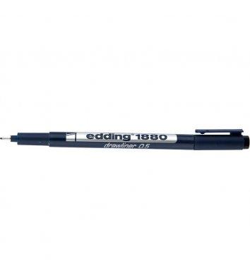 Лайнер Drawliner, колір чорнил чорний 0,5мм, Edding