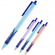 Ручка кулькова автоматична Wave, колір чорнил синій 0,7мм, Axent
