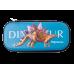 Пенал твердый 1 отделение на молнии Stegosaurus, Zibi