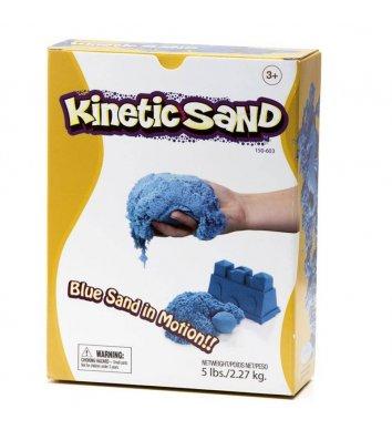 Кинетический песок 2,27кг голубой, Waba Fun