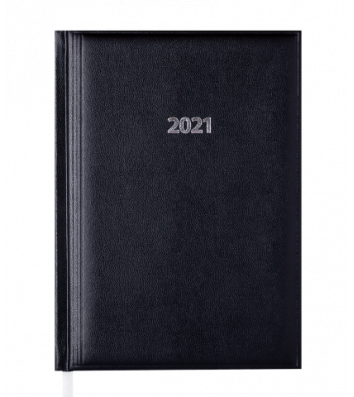 Ежедневник датированный A5 2021 Base (Miradur) черный, Buromax